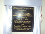 Inauguration of State Date Centre